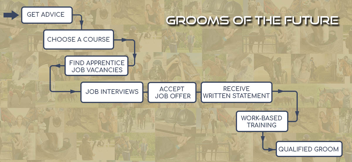 The Grooms List Apprenticeships Zone - Become an Apprentice Groom - A Parents Guide - Infographic